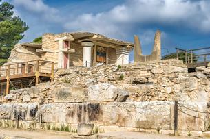 クノッソス宮殿の南側の写真素材 [FYI04081306]