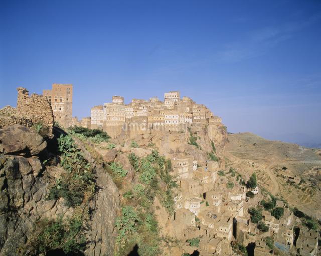 アルハジャラ村の写真素材 [FYI04081563]