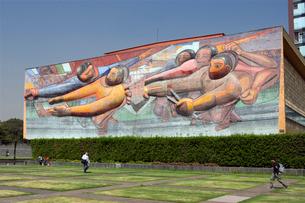 大学都市メキシコ国立自治大学の写真素材 [FYI04081875]