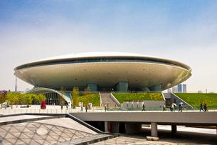 上海万博 上海万博文化センターの写真素材 [FYI04081883]