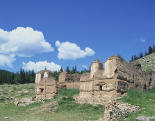 ラマ教遺跡の写真素材 [FYI04081918]