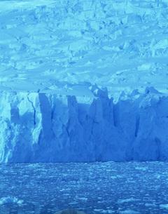 デビル氷河の写真素材 [FYI04081925]