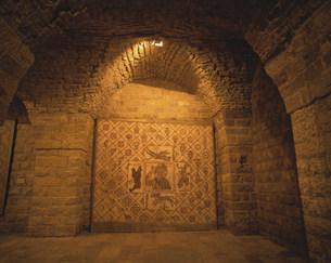 ベイトエディーン宮殿の中の写真素材 [FYI04081928]