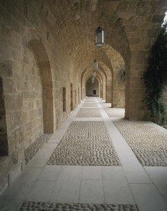 ベイトエディーン宮殿の中の写真素材 [FYI04081934]