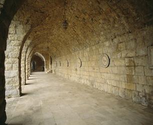ベイトエディーン宮殿の中の写真素材 [FYI04081938]