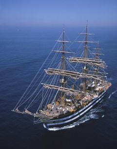 イタリア海軍練習帆船 アメリゴベスプッチ号の写真素材 [FYI04081986]