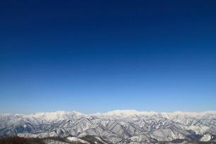 雪山の写真素材 [FYI04082054]