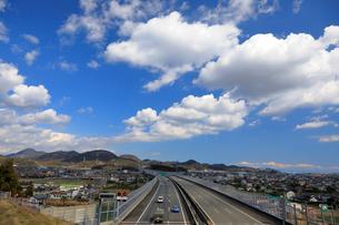 新東名高速 最高速度120km標識の写真素材 [FYI04082223]