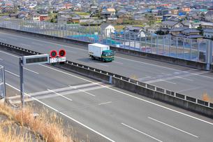 新東名高速 最高速度120km標識の写真素材 [FYI04082225]
