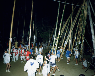 数方庭 忌宮神社の写真素材 [FYI04082265]