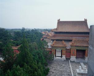 清東陵 定東陵慈禧陵の伽藍の写真素材 [FYI04082604]