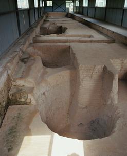 殷墟宮殿宗廟遺跡 甲十二基保護施設の写真素材 [FYI04082671]