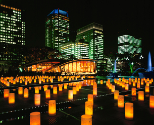 東京ライトピア アンビエントキャンドルパークの写真素材 [FYI04082678]