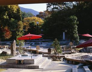 万葉公園 独歩の湯の写真素材 [FYI04082688]
