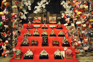 稲取 雛のつるし飾りの写真素材 [FYI04082705]