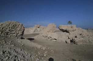 バビロン遺跡 空中庭園の跡の写真素材 [FYI04082714]