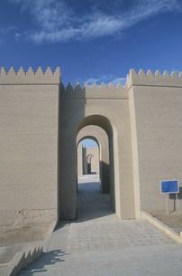 バビロン遺跡 囲壁の写真素材 [FYI04082717]