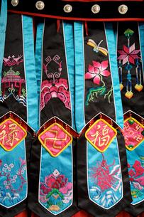 土家族盛装民族衣装部分の写真素材 [FYI04082749]