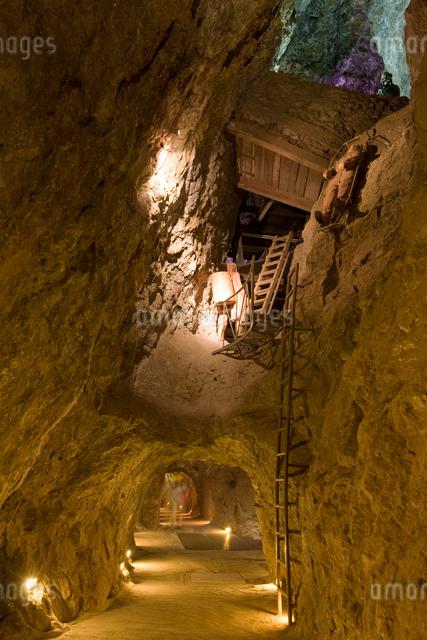 エデン鉱山内部の写真素材 [FYI04082765]