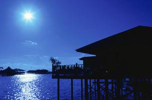 マブール島夜の写真素材 [FYI04082862]