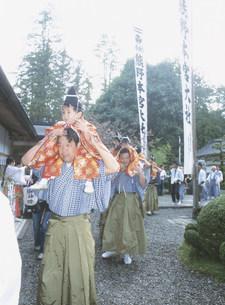 宮渡神事の写真素材 [FYI04082875]