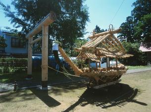 阿気四津屋 鹿島送り 完成した鹿島船の写真素材 [FYI04082966]