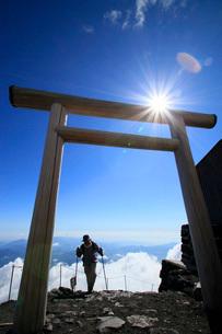 富士登山の写真素材 [FYI04083079]