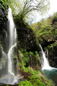 裏見の滝の写真素材 [FYI04083081]