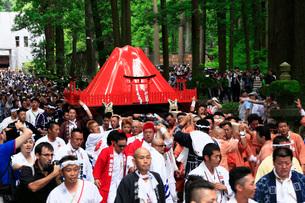 吉田の火祭りの写真素材 [FYI04083099]