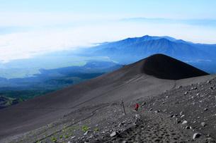 富士登山の写真素材 [FYI04083102]