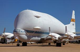 スーパーグッピー大型貨物輸送機の写真素材 [FYI04083309]