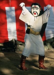 干立の節祭 オホホの舞の写真素材 [FYI04083339]