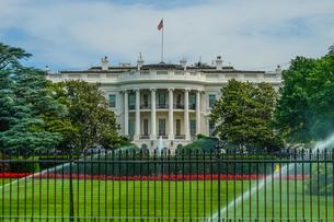 ホワイトハウス(ワシントンDC)の写真素材 [FYI04083662]