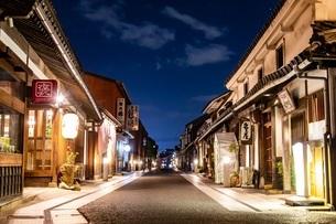 夜の倉敷の写真素材 [FYI04084153]