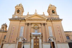 勝利の女神教会(Basilica of the Nativity of Mary, Senglea)の写真素材 [FYI04084174]