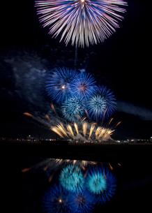 茨城県鉾田市の花火大会の写真素材 [FYI04084659]