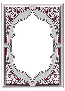 桜フレーム縦3のイラスト素材 [FYI04084977]