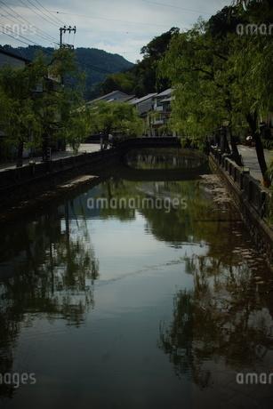 城崎温泉の町並みの写真素材 [FYI04085167]