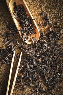 茶葉の写真素材 [FYI04085589]