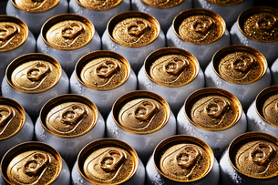ドリンク缶の写真素材 [FYI04085636]