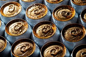 ドリンク缶の写真素材 [FYI04085651]