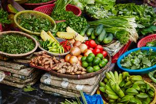 野菜市場の写真素材 [FYI04085668]