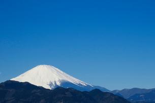 富士山(コピースペース有り)の写真素材 [FYI04085952]