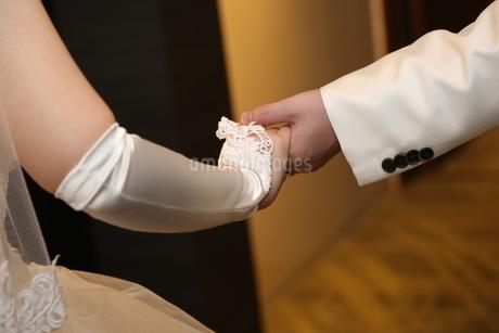 花嫁との写真素材 [FYI04085958]
