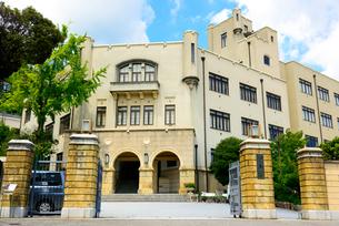 神戸市の近代建築 兵庫県立 神戸高等学校の写真素材 [FYI04086194]