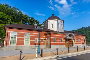 復興した三陸鉄道の鳥越駅の写真素材 [FYI04086536]