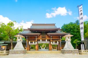 関西の神社仏閣 神戸市 湊川神社の写真素材 [FYI04086563]