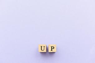 アルファベット テキスト 文字 英字 単語 スタンプ 素材 紫の写真素材 [FYI04086590]