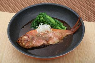 金目鯛の煮つけの写真素材 [FYI04087878]