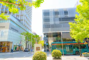 神戸元町 旧居留地の街並みイメージの写真素材 [FYI04088092]